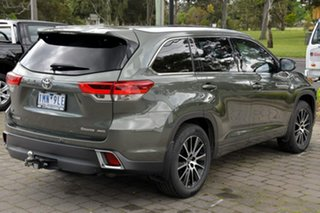 2016 Toyota Kluger GSU55R Grande AWD Green 6 Speed Sports Automatic Wagon