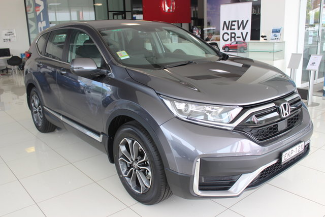 Demo Honda CR-V RW MY21 VTi FWD X, 2020 Honda CR-V RW MY21 VTi FWD X Modern Steel 1 Speed Constant Variable Wagon