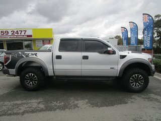 2014 Ford F150 RAPTOR Silver Cab Chassis