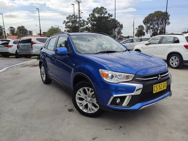 Used Mitsubishi ASX XC MY19 ES 2WD ADAS, 2018 Mitsubishi ASX XC MY19 ES 2WD ADAS Blue 1 Speed Constant Variable Wagon