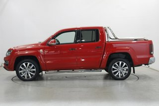 2019 Volkswagen Amarok 2H MY19 TDI580 4MOTION Perm Ultimate Tornado Red 8 Speed Automatic Utility.