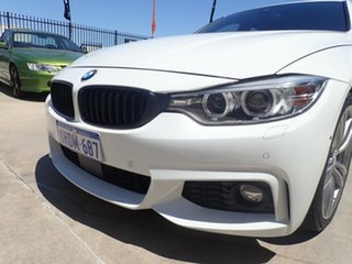 2016 BMW 4 Series F36 420d Gran Coupe Sport Line White Crystal 8 Speed Sports Automatic Hatchback