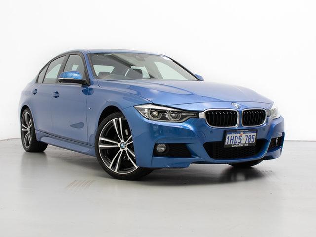 Used BMW 320i F30 LCI M Sport, 2016 BMW 320i F30 LCI M Sport Blue 8 Speed Automatic Sedan