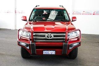 2017 Toyota Landcruiser VDJ200R MY16 GXL (4x4) Merlot Red 6 Speed Automatic Wagon.