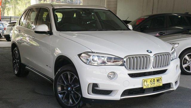 Used BMW X5 F15 xDrive30d, 2016 BMW X5 F15 xDrive30d White 8 Speed Sports Automatic Wagon