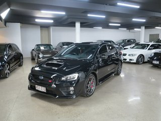 2017 Subaru WRX V1 MY17 STI AWD Premium Black 6 Speed Manual Sedan.