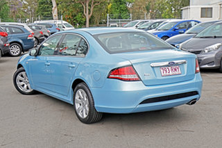 2011 Ford Falcon FG G6 Blue/shado 6 Speed Sports Automatic Sedan.