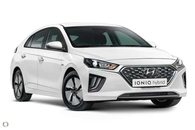 New Hyundai Ioniq AE.3 MY20 hybrid DCT Elite, 2020 Hyundai Ioniq AE.3 MY20 hybrid DCT Elite Polar White 6 Speed Sports Automatic Dual Clutch