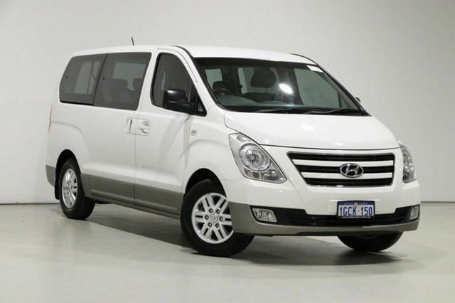 Used Hyundai iMAX TQ Series II (TQ3) , 2016 Hyundai iMAX TQ Series II (TQ3) White 4 Speed Automatic Wagon