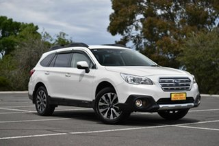 2017 Subaru Outback B6A MY17 2.5i CVT AWD White 6 Speed Constant Variable Wagon.