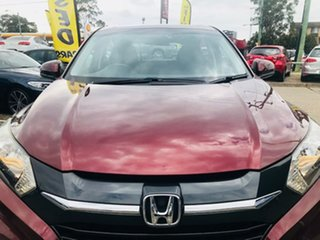 2015 Honda HR-V MY15 VTi Red 1 Speed Constant Variable Hatchback