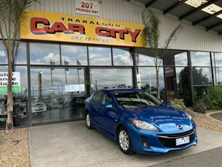2012 Mazda 3 BL 11 Upgrade SP20 Skyactiv Blue 6 Speed Automatic Sedan.