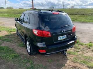 2007 Hyundai Santa Fe CM MY07 SLX Black 5 Speed Sports Automatic Wagon