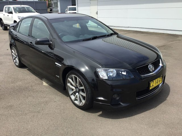 Used Holden Commodore VE II SV6, 2011 Holden Commodore VE II SV6 Black 6 Speed Sports Automatic Sedan