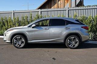 2017 Lexus RX Silver Wagon.