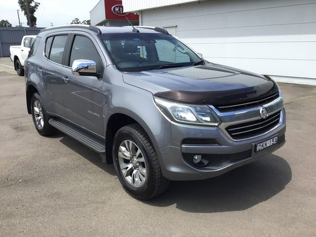 Pre-Owned Holden Colorado 7 RG MY16 LTZ Cardiff, 2016 Holden Colorado 7 RG MY16 LTZ Grey 6 Speed Sports Automatic Wagon