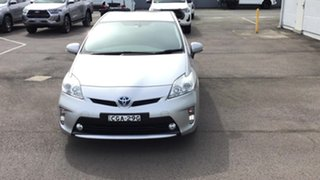 2012 Toyota Prius ZVW30R Silver 1 Speed Constant Variable Liftback Hybrid.