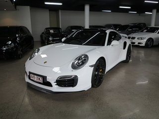 2014 Porsche 911 991 MY15 Turbo PDK AWD S White 7 Speed Sports Automatic Dual Clutch Coupe