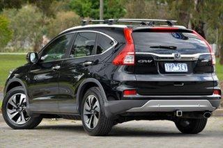 2016 Honda CR-V RM Series II MY17 VTi-L 4WD Black 5 Speed Sports Automatic Wagon.
