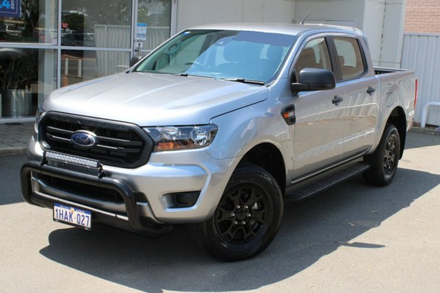 Used Ford Ranger PX MkIII 2020.25MY XL, 2020 Ford Ranger PX MkIII 2020.25MY XL Silver 6 Speed Sports Automatic Double Cab Pick Up