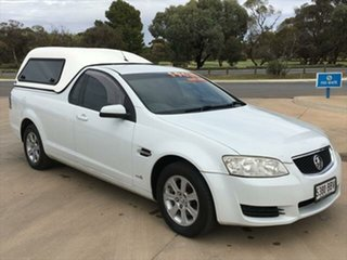 2010 Holden Ute VE MY10 Omega Heron White 4 Speed Automatic Utility.