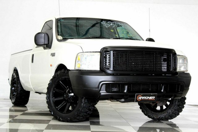 Used Ford F250 RM XLT, 2001 Ford F250 RM XLT White 4 Speed Automatic Pickup