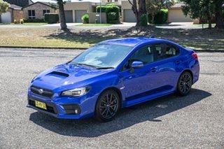 2017 Subaru WRX V1 MY18 AWD Blue 6 Speed Manual Sedan.