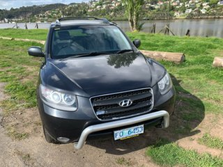2007 Hyundai Santa Fe CM MY07 SLX Black 5 Speed Sports Automatic Wagon.