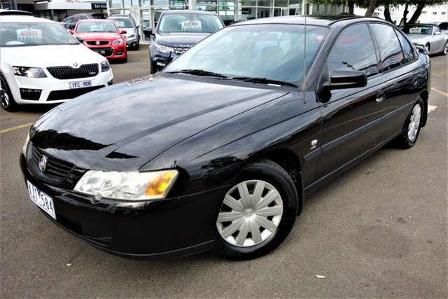 Used Holden Commodore VY Executive, 2002 Holden Commodore VY Executive Black 4 Speed Automatic Sedan