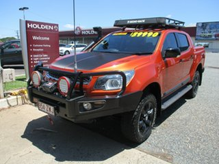 2015 Holden Colorado RG MY16 Z71 Crew Cab Orange Rock 6 Speed Sports Automatic Utility.