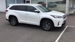 2018 Toyota Kluger GSU55R GXL AWD White 8 Speed Sports Automatic Wagon