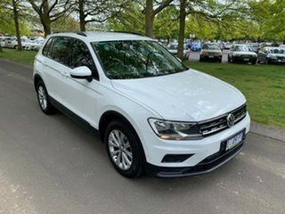 2017 Volkswagen Tiguan 5N MY17 110TSI 2WD Trendline White 6 Speed Manual Wagon.
