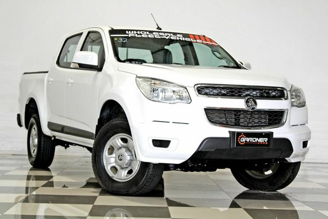Used Holden Colorado RG MY17 LS (4x2), 2016 Holden Colorado RG MY17 LS (4x2) White 6 Speed Automatic Crew Cab Pickup