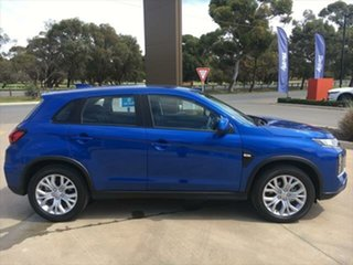 2020 Mitsubishi ASX XD MY20 ES 2WD Lightning Blue 1 Speed Constant Variable Wagon.