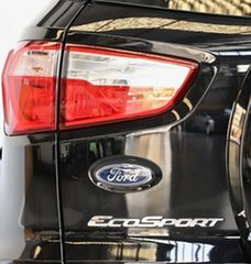 2016 Ford Ecosport BK Ambiente PwrShift Black 6 Speed Sports Automatic Dual Clutch Wagon