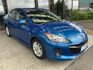 2012 Mazda 3 BL 11 Upgrade SP20 Skyactiv Blue 6 Speed Automatic Sedan