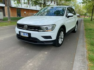 2017 Volkswagen Tiguan 5N MY17 110TSI 2WD Trendline White 6 Speed Manual Wagon