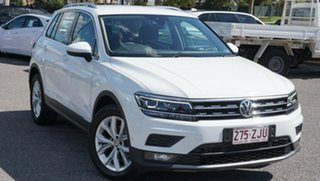 2019 Volkswagen Tiguan 5N MY19.5 110TSI DSG 2WD Comfortline White 6 Speed.