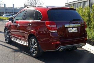 2016 Holden Captiva Red Wagon.