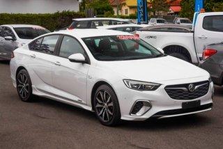 2018 Holden Commodore ZB MY19 RS Liftback AWD White 9 Speed Sports Automatic Liftback.