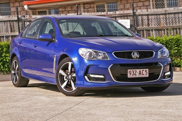 Used Holden Commodore VF II MY17 SV6 Hillcrest, 2017 Holden Commodore VF II MY17 SV6 Blue 6 Speed Sports Automatic Sedan