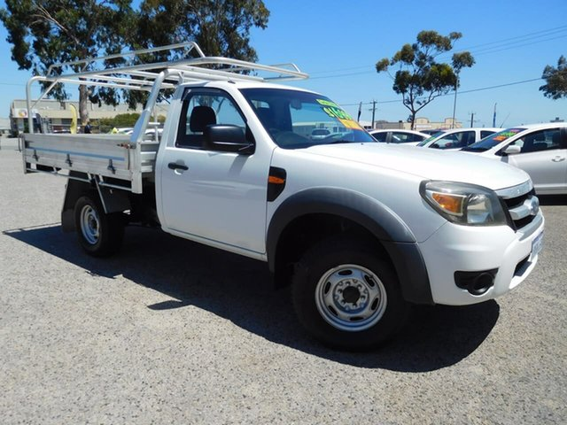 Used Ford Ranger PJ XL, 2009 Ford Ranger PJ XL White 5 Speed Automatic