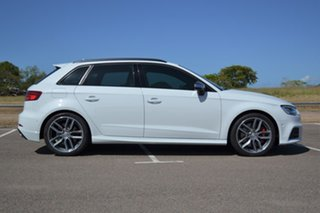 2017 Audi S3 8V MY17 Sportback S Tronic Quattro White 7 Speed Sports Automatic Dual Clutch Hatchback.