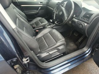 2006 Volkswagen Jetta 1KM MY07 FSI Tiptronic Blue 6 Speed Sports Automatic Sedan.