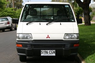 2012 Mitsubishi Express SJ MY12 SWB White 5 Speed Manual Van