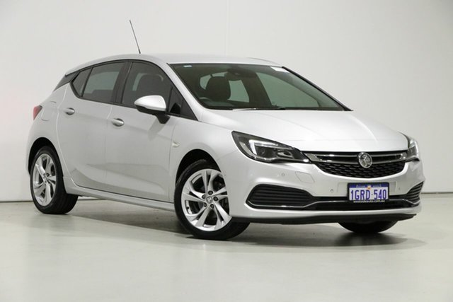 Used Holden Astra BK MY17 RS, 2017 Holden Astra BK MY17 RS Silver 6 Speed Manual Hatchback