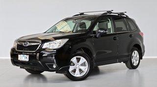 2015 Subaru Forester S4 MY15 2.0D-L AWD Black 6 Speed Manual Wagon.