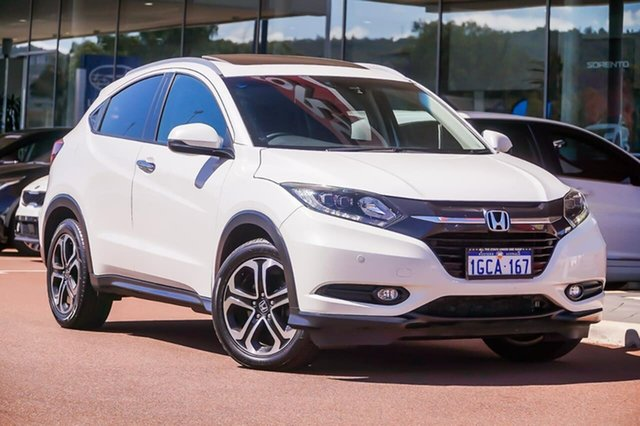 Used Honda HR-V MY15 VTi-L, 2015 Honda HR-V MY15 VTi-L White 1 Speed Constant Variable Hatchback