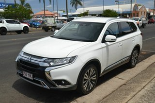 2018 Mitsubishi Outlander ZL MY19 ES 7 Seat (2WD) White Continuous Variable Wagon