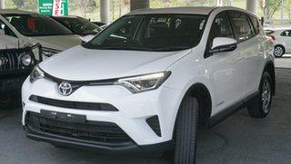 2017 Toyota RAV4 ALA49R GX AWD White 6 Speed Sports Automatic Wagon.